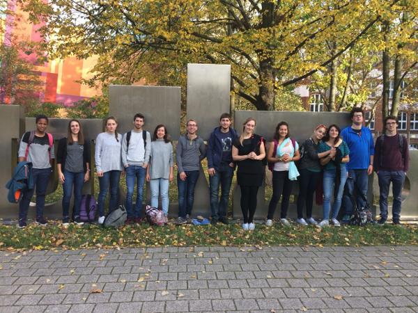 FaRa und Studenten des Institutes polytechnique de Grenoble 2