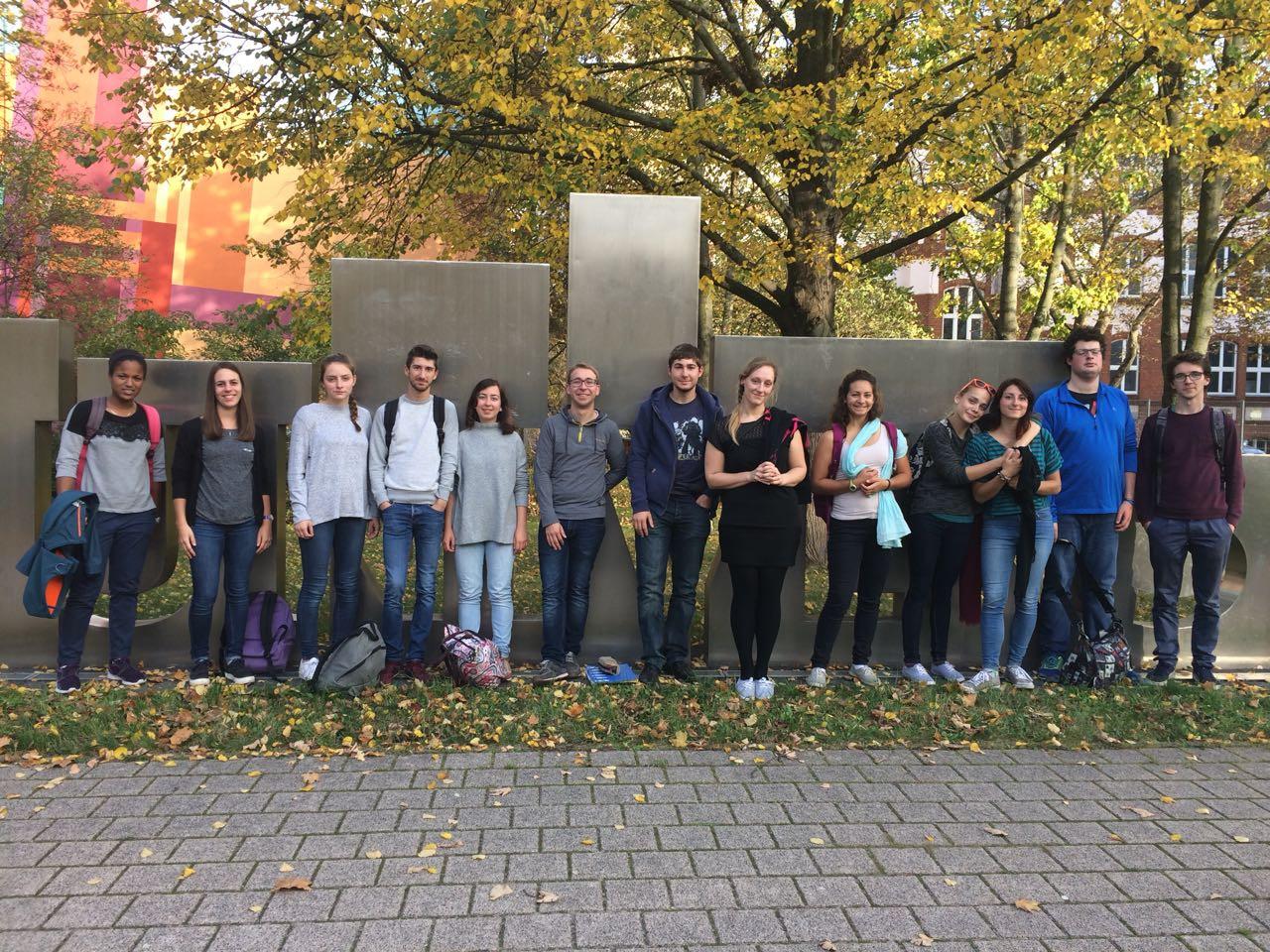 FaRa und Studenten des Institutes polytechnique de Grenoble 3
